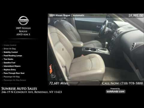 Used 2009 Nissan Rogue | Sunrise Auto Sales, Rosedale, NY