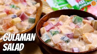 EASY GULAMAN SALAD | How to Make Fruity Jelly Salad | Mortar and Pastry