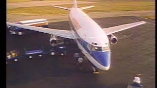 """Piedmont Airlines Commercial From 1981 - """"On-Time Record"""""""