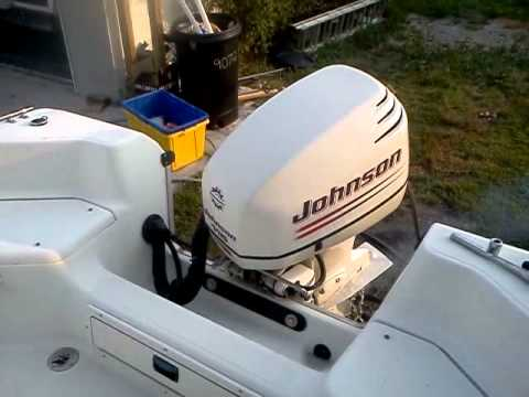 2004 glastron 183cc 2004 johnson 115hp 2 stroke center for 115 johnson outboard motor