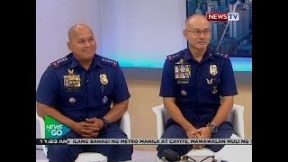Panayam kay outgoing PNP chief Ronald Dela Rosa at incoming PNP chief Oscar Albayalde