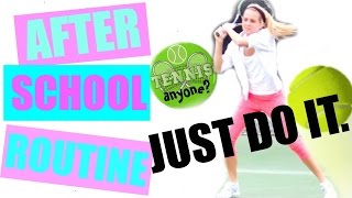 After School Routine! GRWM Tennis Outfit 🎾 Tennis Workout 🎾