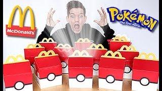 BUYING The ENTIRE Pokemon McDonalds Menu!!!!