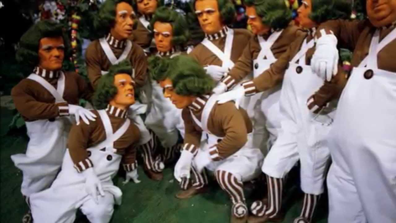 OOMPA LOOMPA; ALL SONGS; WILLY WONKA SOUNDTRACK; original classic ...