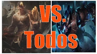 RENGAR E LEE VS. TODOS - Mihawk - LEAGUE OF LEGENDS