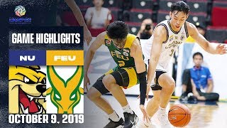 NU Vs FEU October 9 2019 Game Highlights UAAP 82 MB