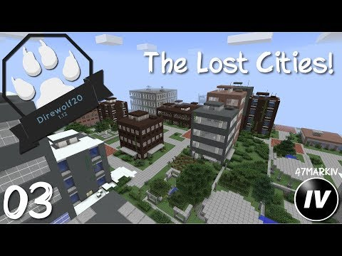 Direwolf20 1 12 - Ep 3 - The Lost Cities - YouTube