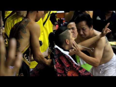 Taoist Trances/Piercings/Procession: Zhang Gong Sheng Jun Birthday (August 26, 2016)