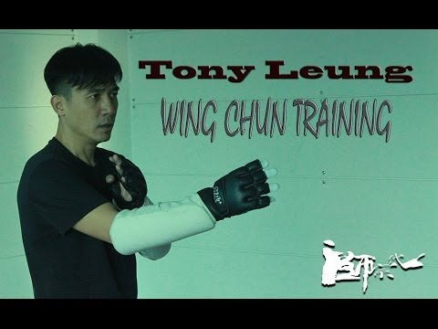 Tony Leung Chiu Wai 梁朝偉 Wing Chun training. The Grand Master 一代宗師