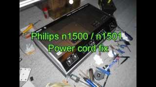 Philips N1500 Power Connector Fix