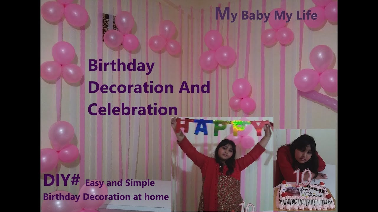 Birthday Decoration Ideas Celebration