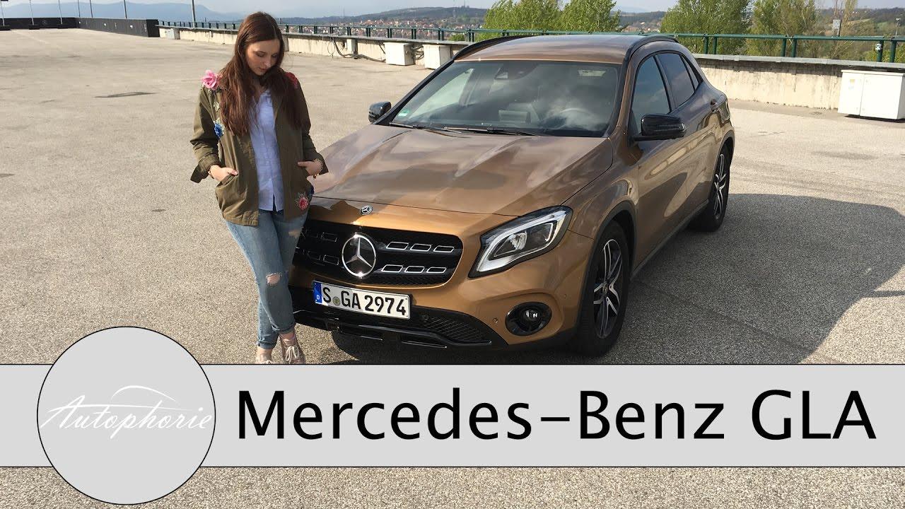 2017 Mercedes Benz Gla On Road Und Off Road Test Kompakt Suv Mit