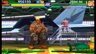 Street Fighter Alpha 3(Zero 3) Expert difficulty Birdie 2:0 Playthrough