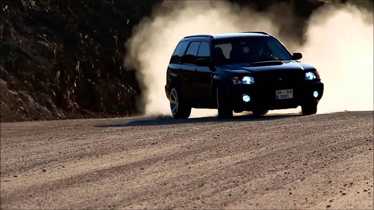 Subaru Forester Rally Drift Youtube