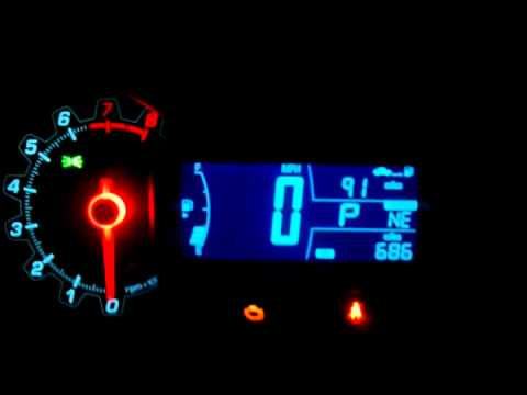 Chevy Sonic LT Dash Night