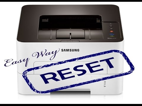 Reset Samsung SL M 2620 2625 2820 2825 2830 2835 3320ND 3325ND 3820D 3825D fix firmware easy way