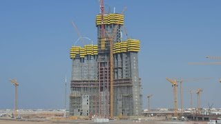Kingdom Tower/Jeddah Tower - World's Tallest Building - 1Km+ Tower - 2016 UPDATE- برج جدة