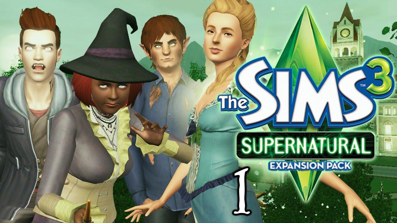 Симс 3 супернатурал видео
