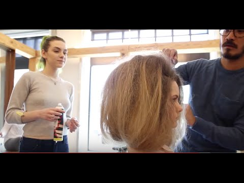 Editorial hair styling session by Tuan Anh Tran