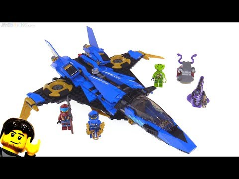 LEGO Ninjago Legacy Jay's Storm Fighter review! 70668