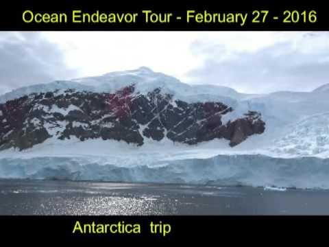 ocean endeavor tour of ship