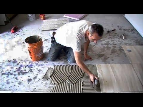 Укладка плитки на пол своими руками, как быстро и правильно положить плитку