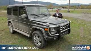 Mercedes Benz G Class 2013 Videos