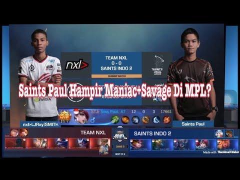 Legendary Pertama Di MPL By Saints Paul (Paul Akan Live Nanti)