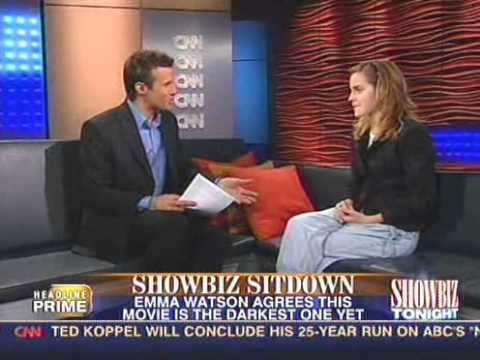 Emma Watson on Showbiz Tonight in 2005