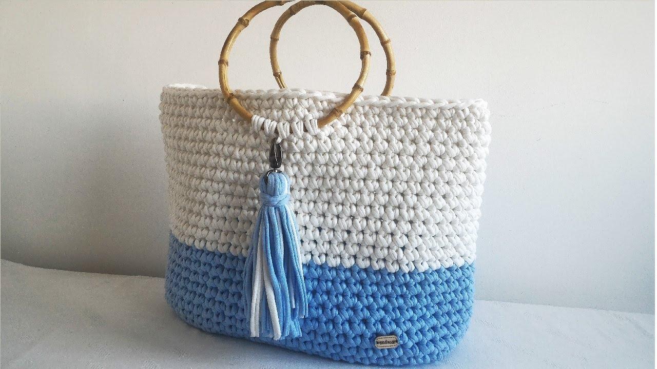 0b0ec81751b3 Как связать пляжную сумку крючком