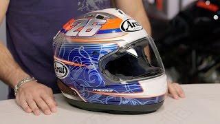arai corsair x dani 4 helmet review at revzilla com