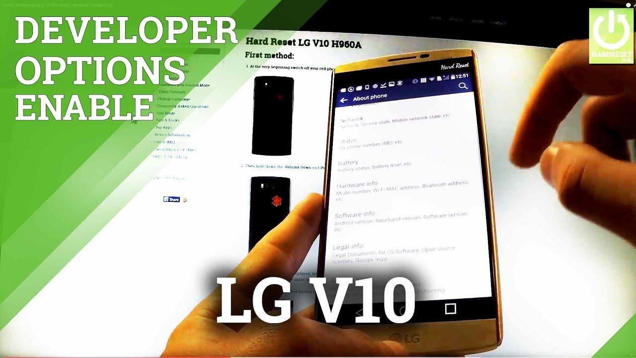 Resetting Videos - LG VS990 V10 (Verizon) - HardReset info