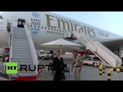 UAE: Emirates unveil world's first two-class A380 double decker at DAS 2015