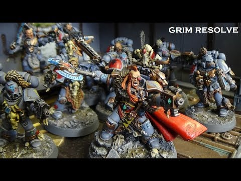 Space Wolves Vs Crimson Slaughter 8th Edition 40k 2000 Points Chapter Approved Chaos Space Marines