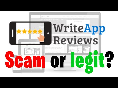 WriteAppReviews.com Review - Is it a scam or legit?