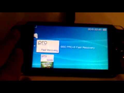 как поставать прошивку версии 6.60 на PSP