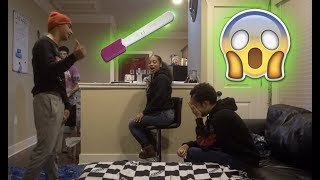 IM PREGNANT BY ANOTHER MAN PRANK ON BOYFRIEND FT RUNIK