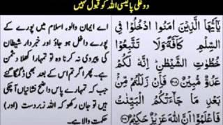 Kaam Ki Baten... Bayan By Mufti Muhammad Zarwali Khan D.B.A.wmv
