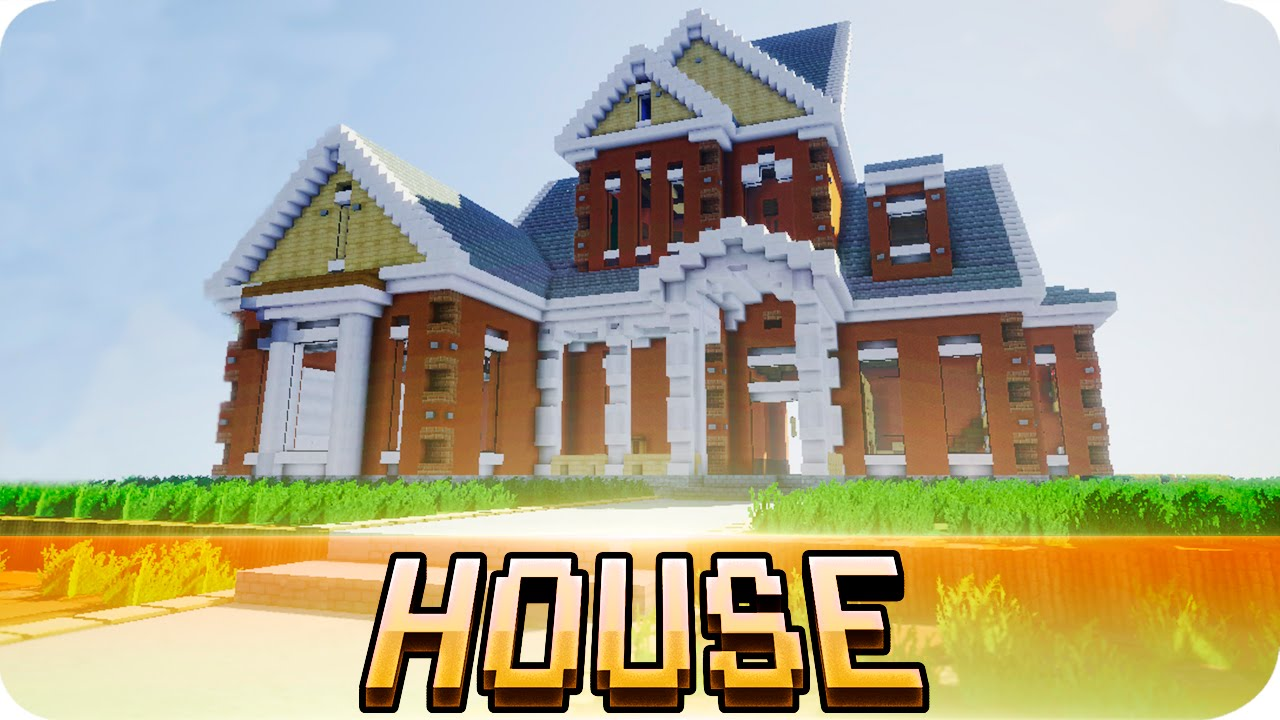 Minecraft American Home House Map W Download Youtube