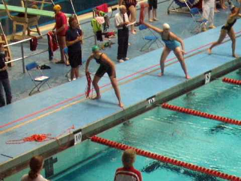 shona Rope throw in sheffield lifesaving competition 2009