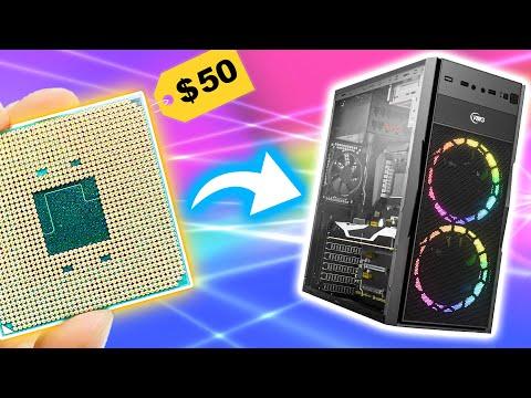 I put a $50 CPU in a $2000 GAMING PC