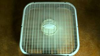 "8hrs Box Fan Low Speed   ""Sleep Sounds"""