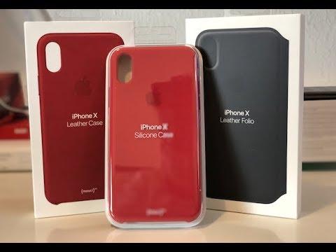 alle apple iphone x h llen cases ausgepackt und ausprobiert youtube