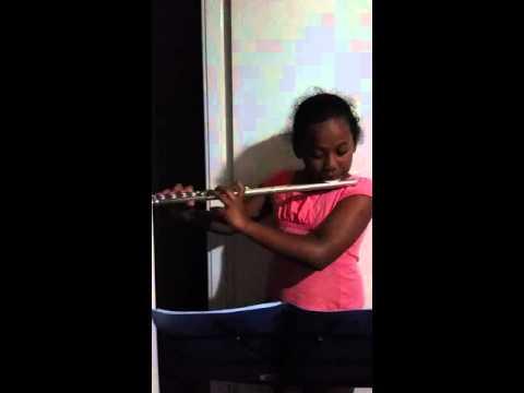 Australian National Anthem on the flute