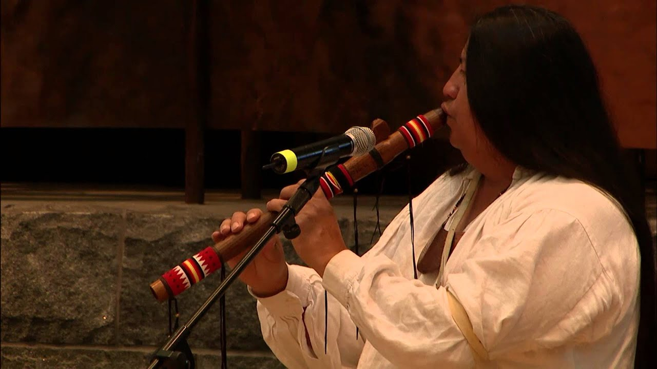 Cherokee Days 2015: Tommy Wildcat - Native American Flute 1