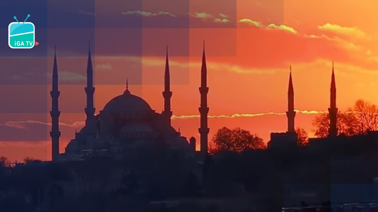 Günbatımında İstanbul 🚢🌅🧡 #Shorts