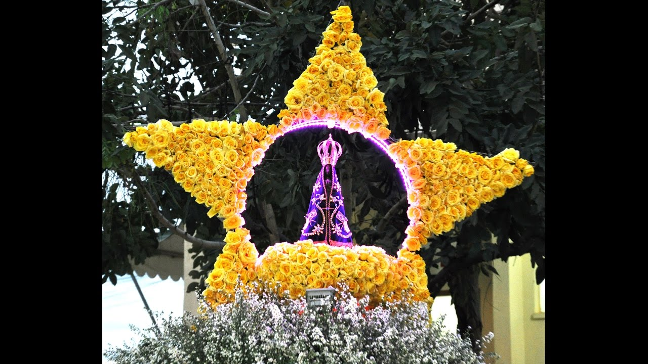 Festa De Nossa Senhora Aparecida: Procissão E Festa De N.Sra Aparecida No Santuário Do Bom