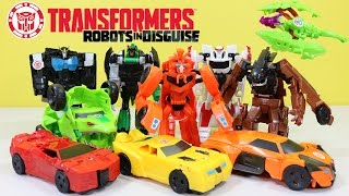 The BEST of Transformers Robots In Disguise Autobots vs Decepticons Part 1