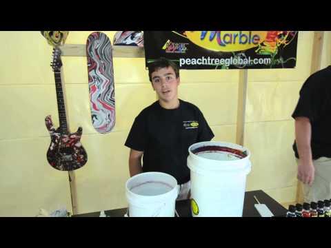 Swirling Metallic Silver Amp Black Custom Guitar Swirl Doovi