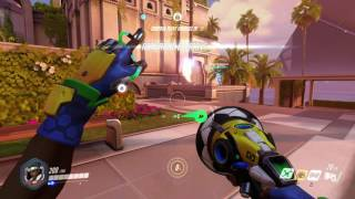 Overwatch - Lucio Gameplay On The New Oasis Map: Full Match, Level 44, Multiplayer Gameplay PS4Pro